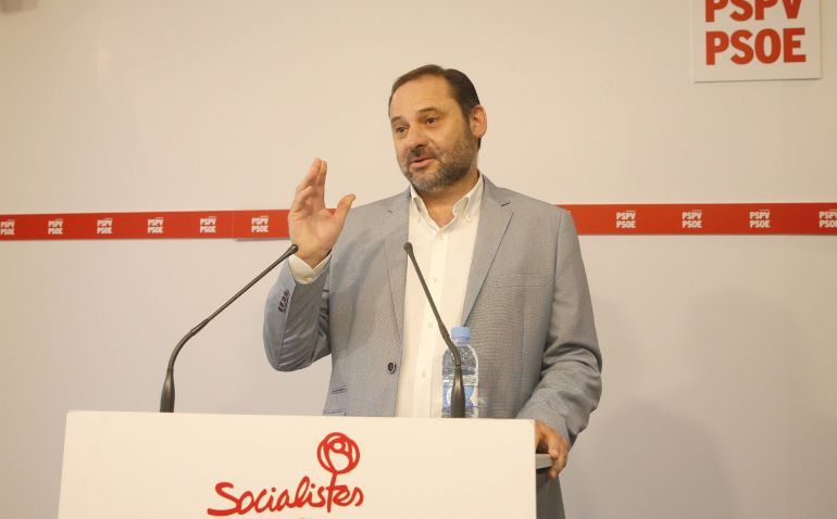 El secretario de Organización del PSOE y secretario provincial de los socialistas valencianos, José Luis Ábalos.