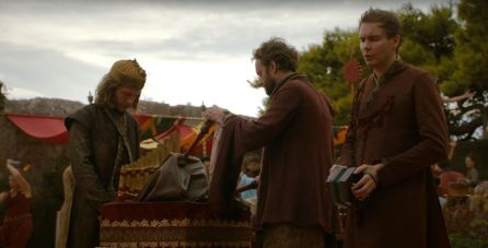 El grupo islandés durante la famosa boda entre Joffrey y Margaery.