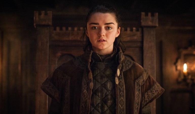 Arya Stark en el 7x01 de 'Juego de tronos'
