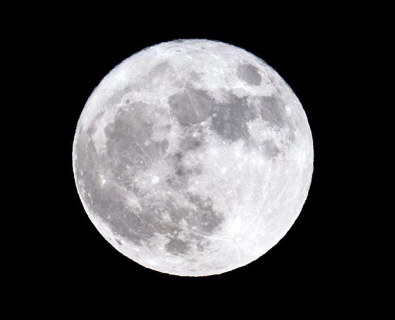 Salida de la luna en Córdoba.