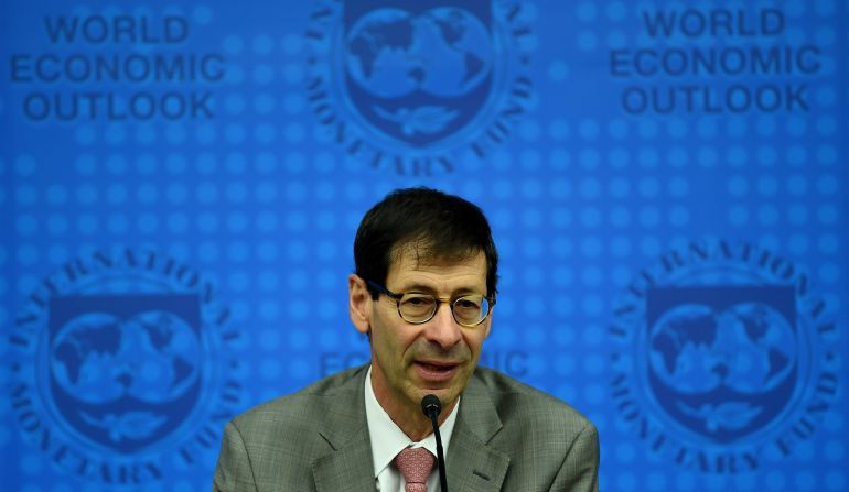 El economista jefe del FMI, Maurice Obstfeld.