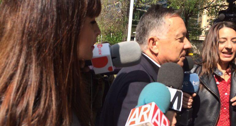 Antonio Arroyo abandona la Audiencia Provincial de Madrid tras ser absuelto por prescripción
