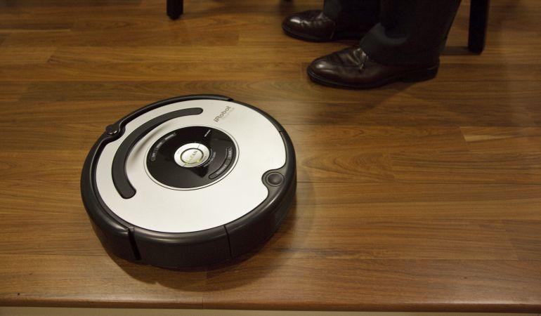 Uno de los modelos Roomba, de iRobot.