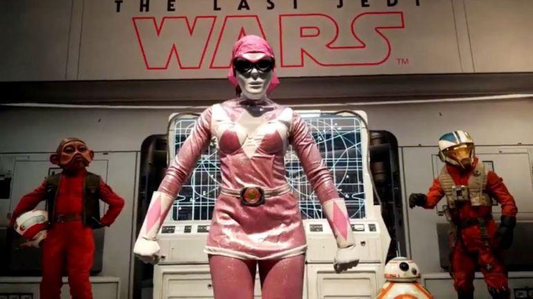 La actriz estuvo irreconocible en la Comic-Con gracias a su disfraz.