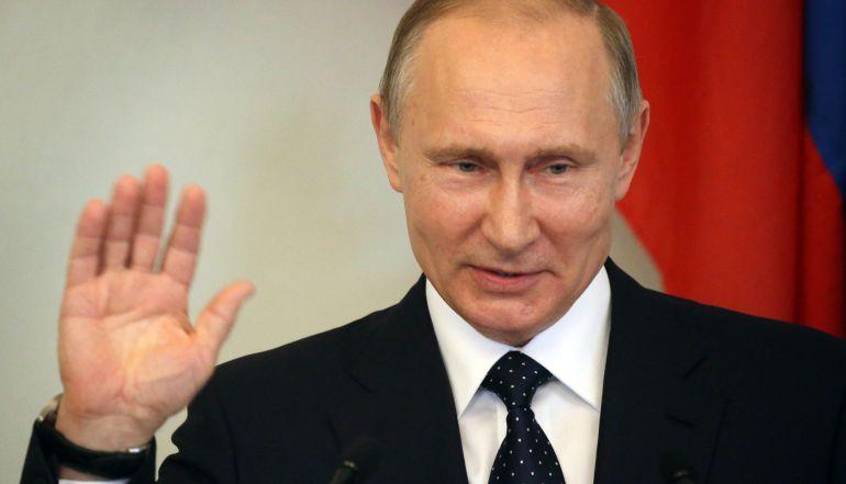 El presidente ruso, Vladimir Putin, en Finlandia.