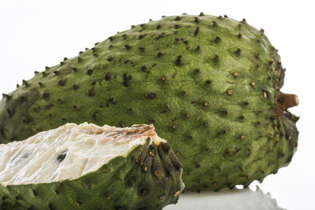 La pulpa de las guanábanas es similar a la de la chirimoya.