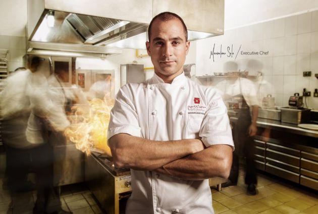 el argentiono Maximiliano Sola es el chef ejecutivo de Passion.