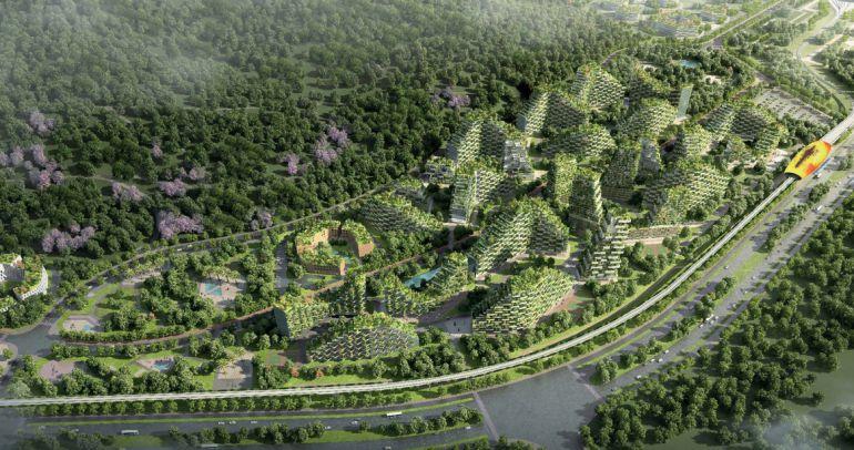 Proyecto de la ciudad verde.