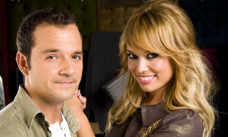 Ángel Martín y Patricia Conde, presentadores de 'Sé lo que hicisteis'