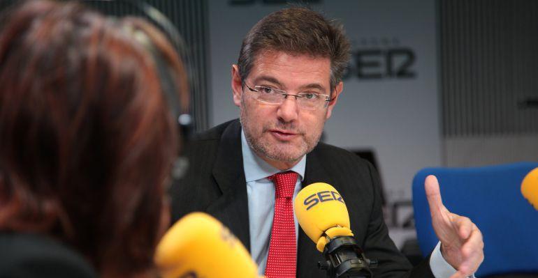 Rafael Catalá en una entrevista en 'Hoy por Hoy'