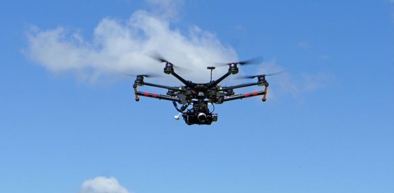 El uso de drones aumenta en el sector audiovisual