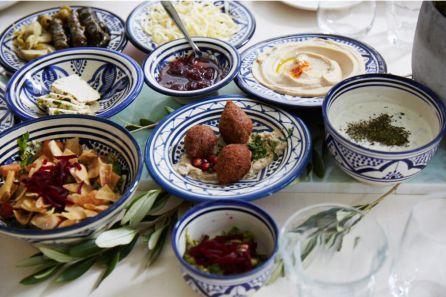 Varios de los platos que ofrecía Imad en su restaurante