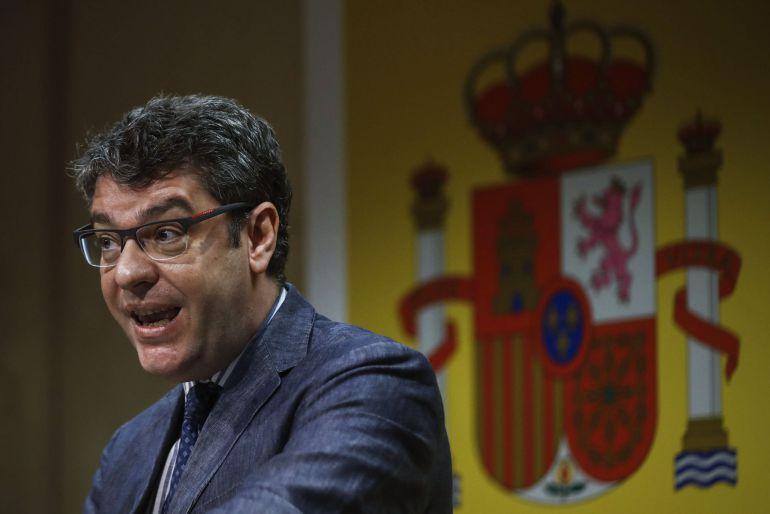 El ministro de Energía, Turismo y Agenda Digital, Álvaro Nada.