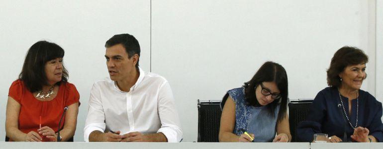 La secretaria de Cultura, Carmen Calvo.