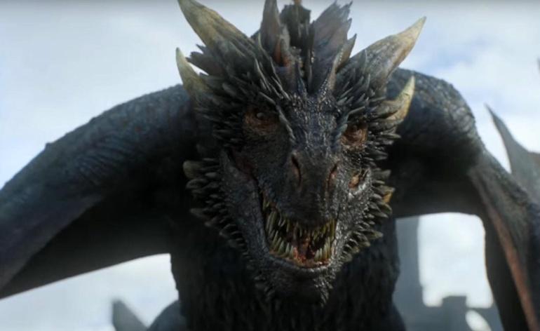 Drogon en la séptima temporada de 'Juego de tronos'