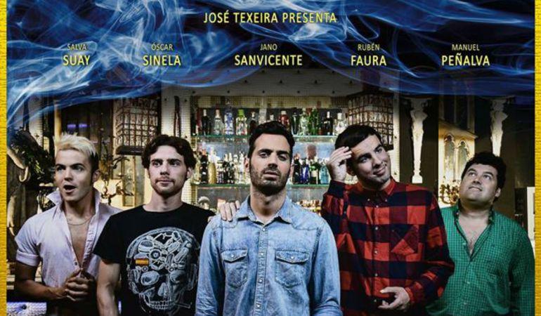 Imagen del cartel oficial de la película.