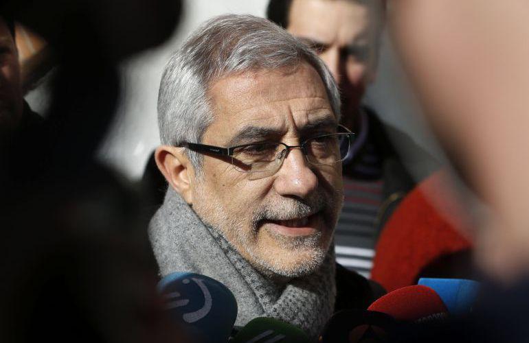 El portavoz de Izquierda Unida en la Junta General del Principado de Asturias, Gaspar Llamazares.