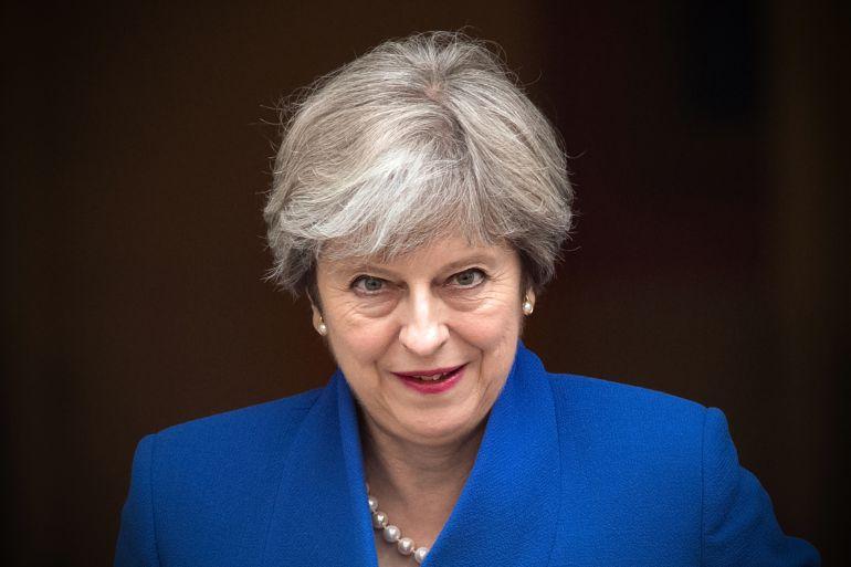 Theresa May, en una foto de archivo