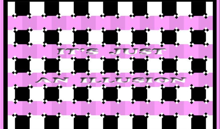 ¿Cómo ves las líneas? Esta increíble ilusión óptica jugará con tu mente