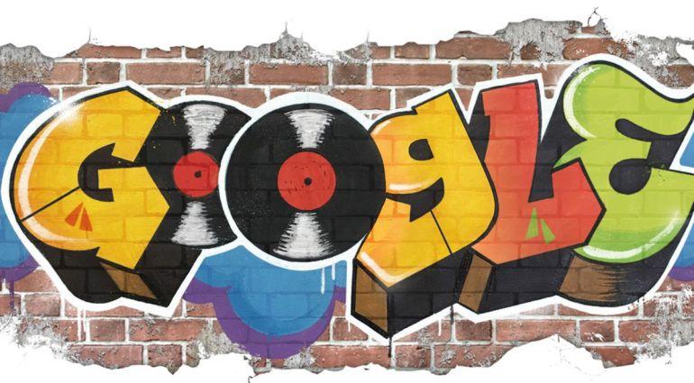 El 'doodle' conmemora la creación del estilo Hip Hop.