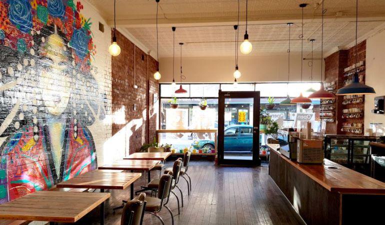 La cafetería Handsome Her situada en Melbourne, Australia.