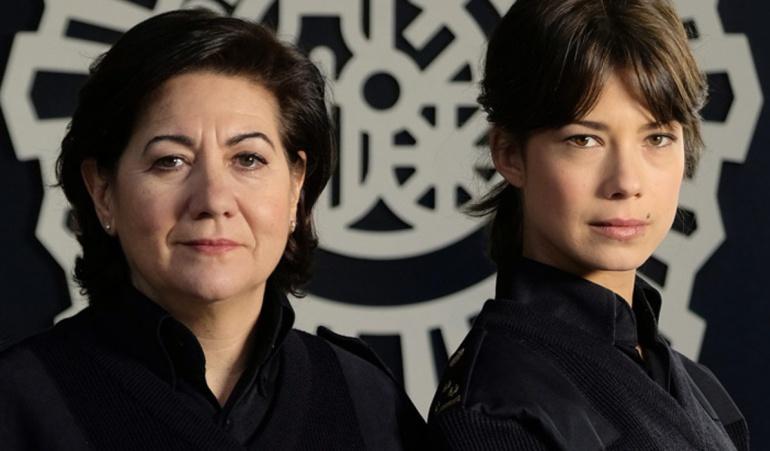 Luisa Martín y Andrea del Río, protagonistas de 'Servir y proteger'