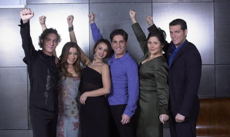 Los finalistas de la primera edición de 'Operación triunfo'