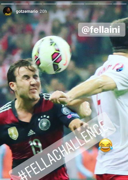 Imagen que publicó Mario Gotze en su cuenta de Instagram.