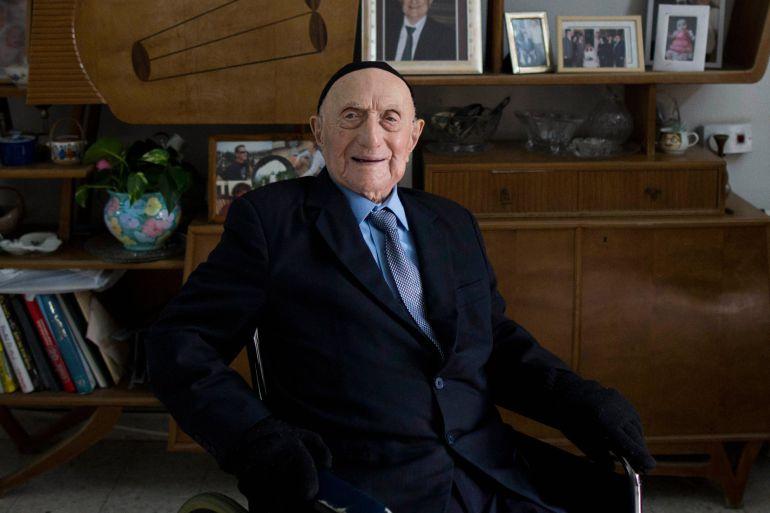 Yisrael Kristal era el hombre más viejo del mundo.