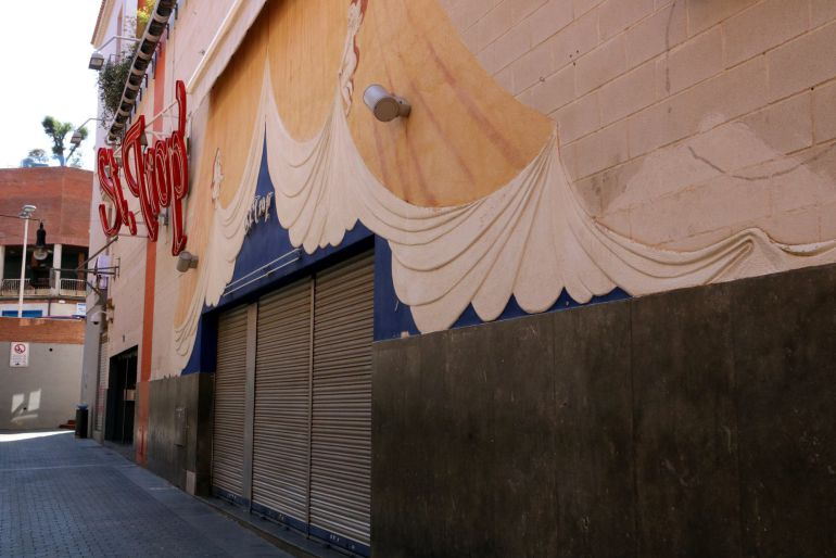 Fachada de la discoteca en Lloret de Mar en la que se produjo la pelea