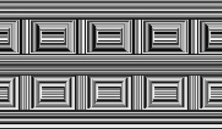 La ilusión óptica ha dado la vuelta al mundo.