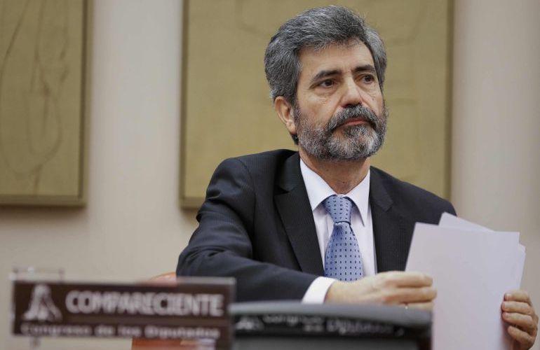 Carlos Lesmes, en una fotografía de archivo.