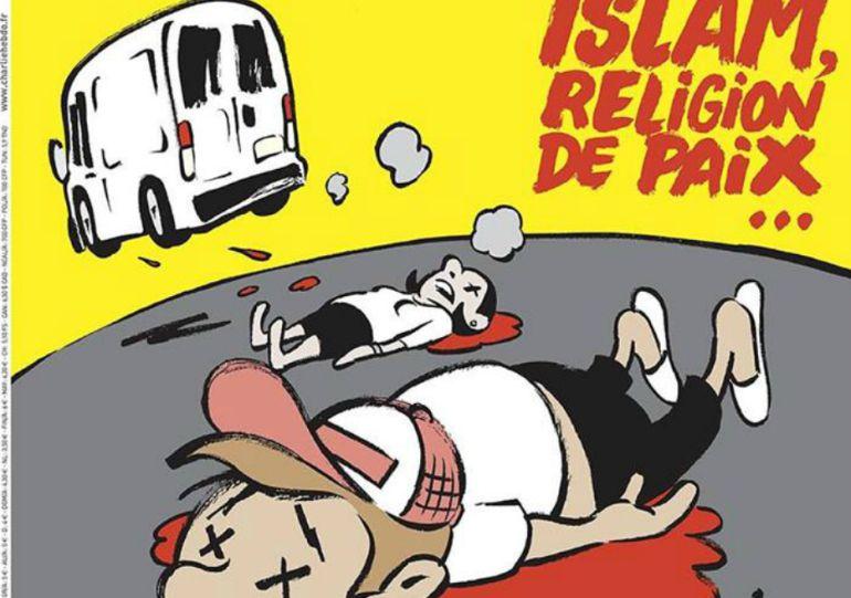 Portada de la revista satírica francesa.