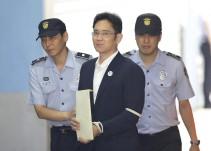 El heredero de Samsung, condenado a 5 años de cárcel por corrupción