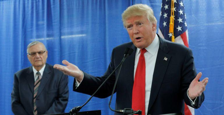Donald Trump, durante un acto en Iowa