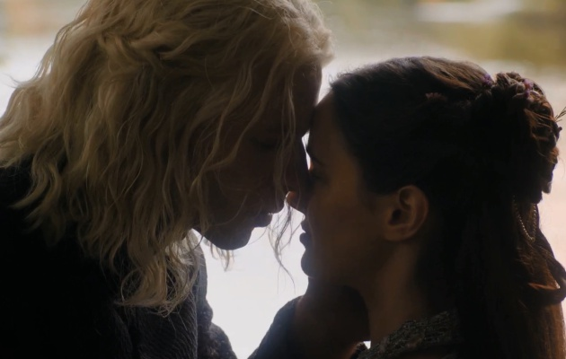 Rhaegar Targaryen y Lyanna Stark, juntos en el 7x07