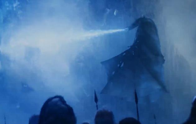 El Dragón de Hielo funde el Muro