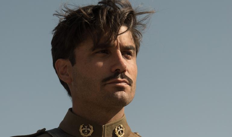 Álex García, protagonista masculino de 'Tiempos de guerra'