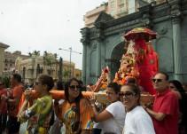 El vicario de Ceuta dimite al ser amonestado por permitir entrar una deidad hindú en un Santuario
