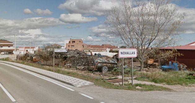 Novallas pertenece a Zaragoza.