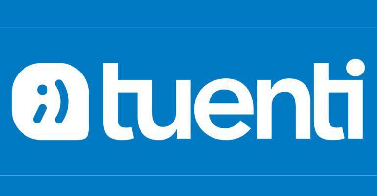 Logo de Tuenti.
