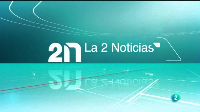 Careta de entrada de 'La 2 Noticias'