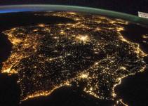 España, el mayor foco de contaminación lumínica de la UE
