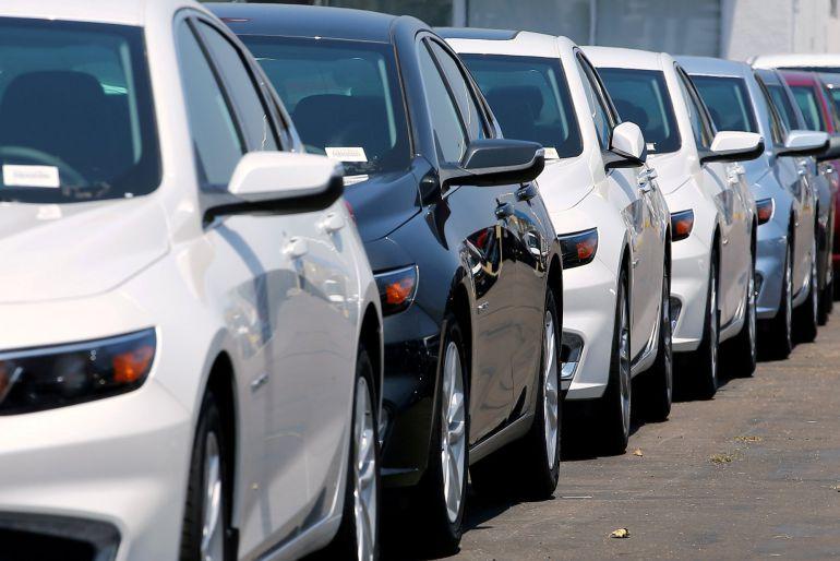 Las ventas de coches a particulares subieron un 8,5% en agosto