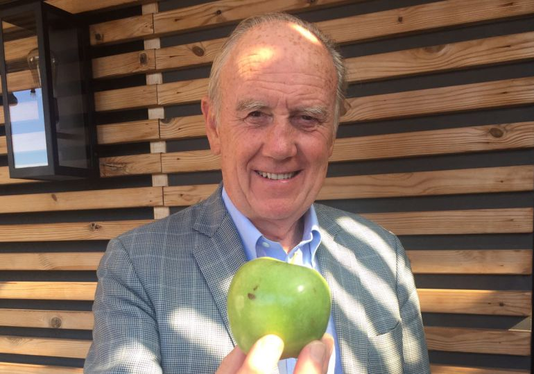 Para desayunar, una manzana o dos kiwis cada día.