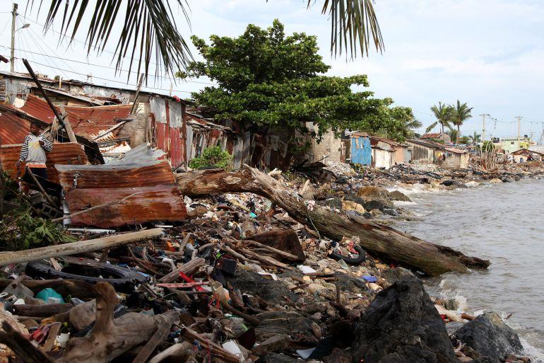 Los destrozos que ha dejado 'Irma' a su paso por el Caribe.