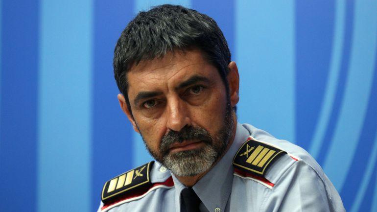 Josep Lluís Trapero, Major de los Mossos d'Esquadra, en una imagen reciente