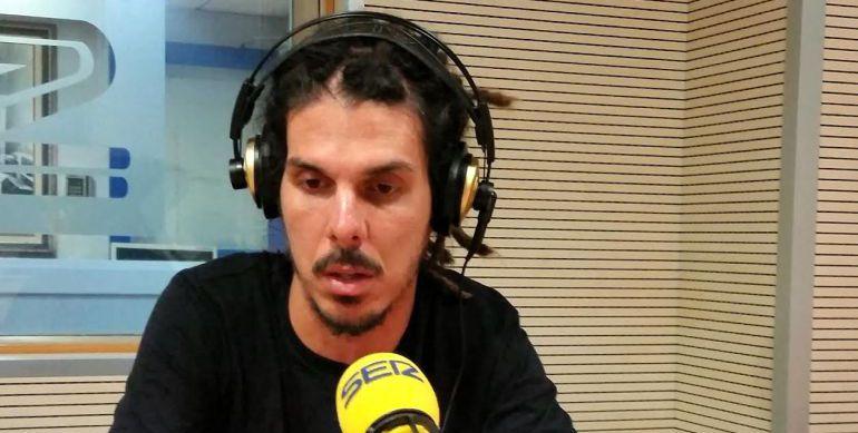Alberto Rodríguez durante una entrevista con la Cadena SER