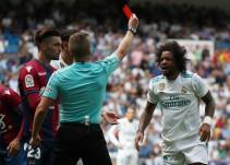Marcelo se expone a una sanción de 4 partidos