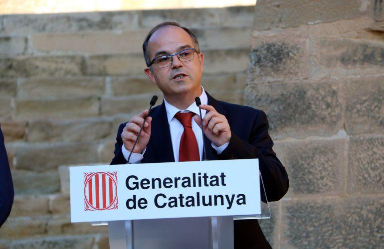 El conseller de Presidencia y portavoz del Govern, Jordi Turull.